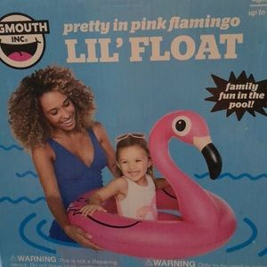Big Mouth Pink Flamingo Lil' Float